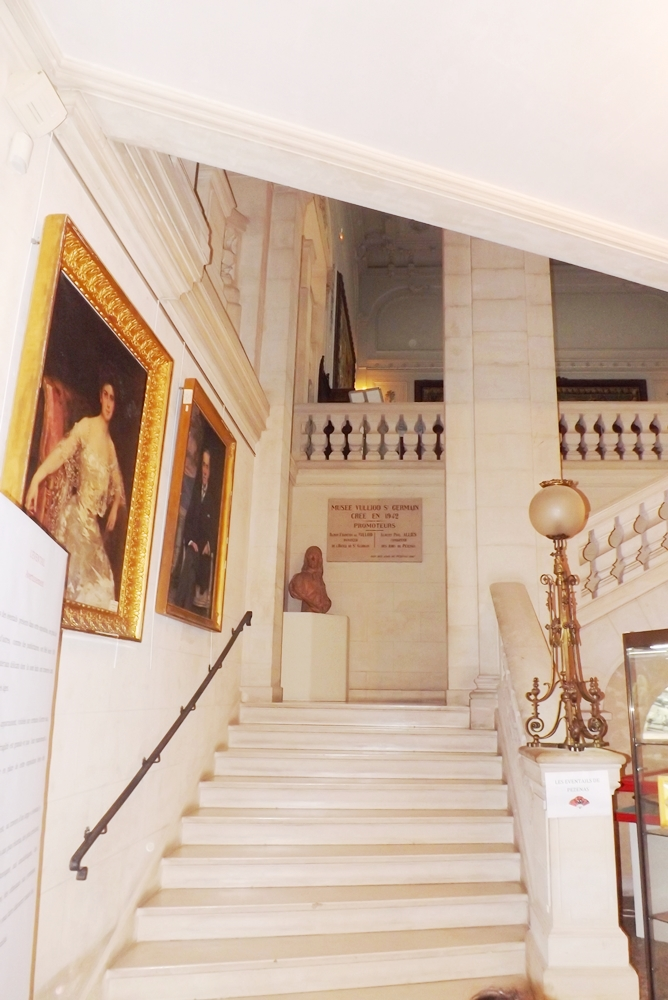 escalier musee vulliod st germain pezenas