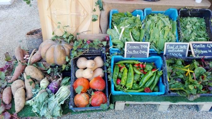 legumes marche automne