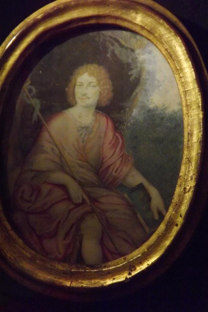medaillon peinture portrait de moliere musee vulliot st germain pezenas